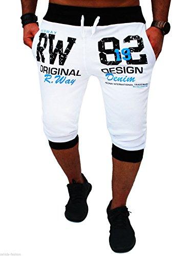 """1018–Pantaloni da uomo bianco"