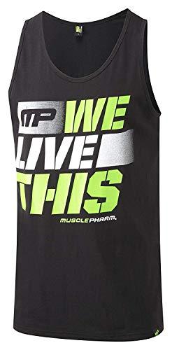 Muscle Pharm Herren Textilbekleidung Printed Vest