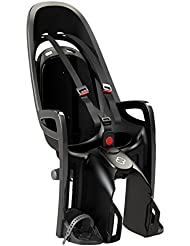 Hamax asiento infantil para bicicleta Zenith with Carrier adaptador, Grey/Black, HAM553041