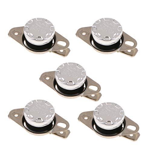 Sharplace 5 Pcs KSD301 Interruttore Termico Normalmente Aperto Distributore Acqua Protezione Elettrodomestici - 40 ℃