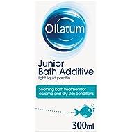 Oilatum Junior Eczema and Dry Skin Emollient Bath Additive, 300 ml