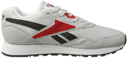 Reebok Rapide Mc90, Scarpe da Ginnastica Basse Uomo Grigio (Lgh Solid Grey/coal/primal Red/white/black)