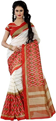 Trendz Style Bhagalpuri cotton silk saree(TZ_1019_C)  available at amazon for Rs.314