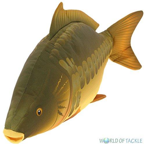 NGT Carp Fishing Fish Shaped Pillow Cushion Or Toy Great Gift Idea 70cm Long