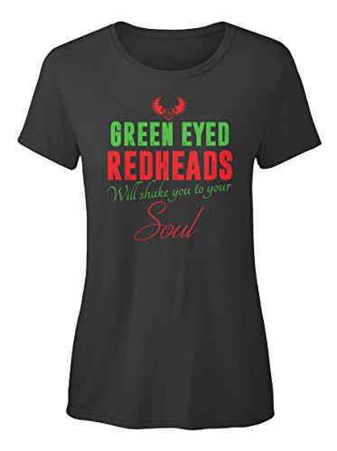 Stylisches T-Shirt Damen von Teespring | Originelles Outfit für jeden Anlass und lustige Geschenksidee - GREEN EYED REDHEADS EU