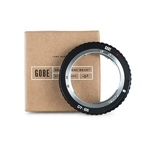 Gobe Lens Mount Adapter: Kompatibel mit Contax/Yashica (C/Y) -Objektiv und Canon EOS (EF/EF-S) -Kameragehäuse