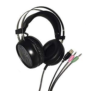 KARTELEI Gaming Kopfhörer Surround Stereo Sound Geräuschisolation Headset für PC, Xbox One, PS4, Nnintedo Switch