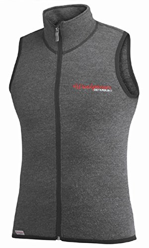 Woolpower Damen Herren Funktionsweste Vest 400, Farbe:grau, Größe:L