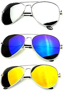 77e086714ea Younky Unisex Combo Of Uv Protected Aviator Stylish Mercury Sunglasses For Men  Women Boys   Girls