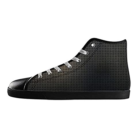 Dalliy Metal Women's Canvas Shoes Lace-up High-top Footwear Sneakers Chaussures de toile Baskets