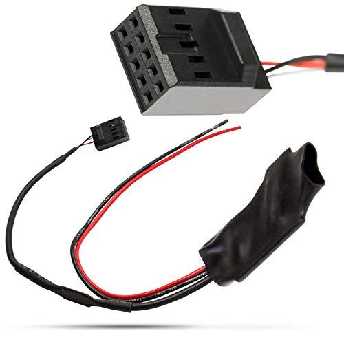 Câble Adaptateur Bluetooth AUX in pour Voiture - Amplificateur de Bruit Professionnel CD BMW Série 3 E46
