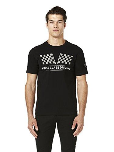 Automobili Lamborghini Herren T-Shirt Schwarz schwarz Gr. L, schwarz - Lamborghini-shirt