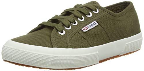 Superga 2750-cotu Classic, Unisex Adults' Trainers, Green (595 Military Green), 9 UK