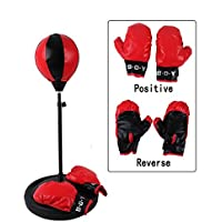 henmerry Bambini altezza regolabile Punching Bag Boxe