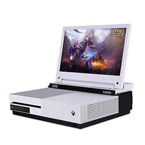 Der 11,6-Zoll HDR FHD 1080p mobile augenschonende Gaming-Monitor für die Xbox One S von G-STORY mit FreeSync, HDMI-Kabel und integrierten Multimedia-Stereo-Lautsprechern