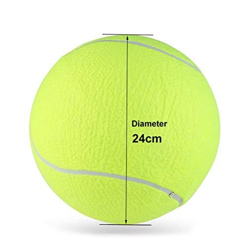 LUOEM Große Tennisball für Haustiere Outdoor Sport 9,5 - Hund Tennisbälle