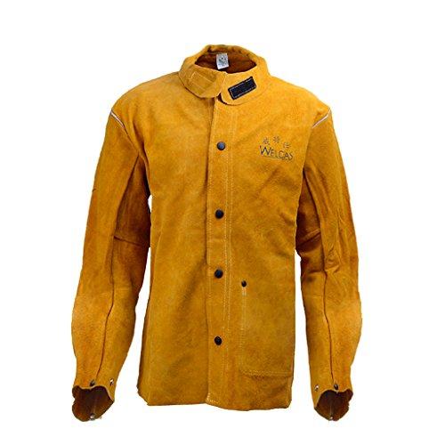 Gazechimp Schweißmantel Schweißerjacke Welding Jacket - L (Kleidung Feuerhemmende)