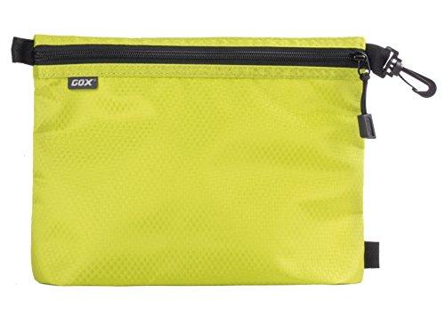 Organizer per Valigia o Zaino, GOX Premium 420D Nylon Borsa con Cerniera Portatile / Borsa Zip / Viaggi Dell'organizzatore di Immagazzinaggio / Borsa Zipper / Organizzatori di Viaggi (Large, Verde)