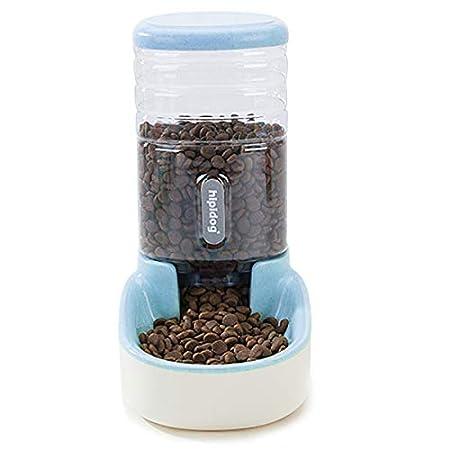 Zeagro Automatischer Futterspender,Futter und Wasserspender,Futterautomat Katze Haustier,Hund Schüssel,Automatik für…