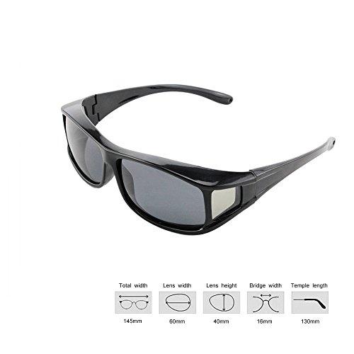 ryask (TM) UK Herren Frauen UV400polarisiert Sonnenbrille Sicherheit Goggle für Outdoor Sports Fahrrad fahren fahren, Universal