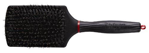 Olivia Garden Haarbürste Pro Forme Paddle-Bürste, mit reinen Wildschweinborsten
