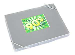 'Sweet in the 90's' - Retro Sweet Selection in Silver Gift Box Celebrating the Nineties. Excellent Value Birthday or Christmas Gift!