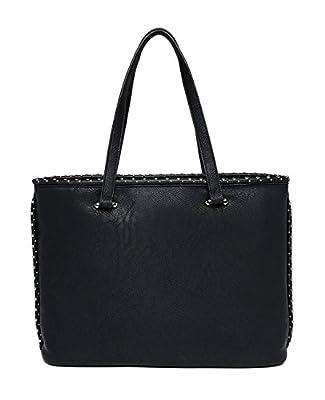REPLAY - Fw3772.000.a0180b, Shoppers y bolsos de hombro Mujer, Negro (Black), 12x29x38 cm (B x H T) de Replay