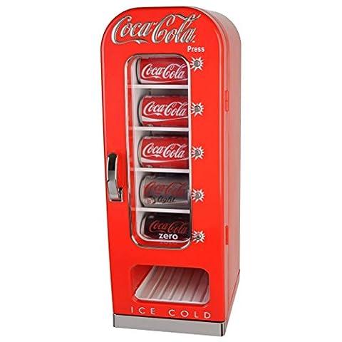 Mini refrigerateur distributeur de canettes Coca-Cola
