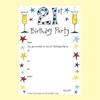 Rachel Ellen Milestone età compleanno inviti 21st