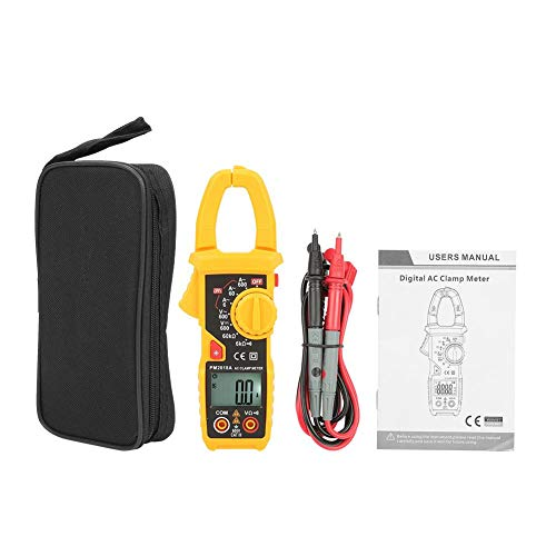Clamp Meter Multimeter, PEAKMETER Handheld Digital LCD Clamp Meter AC/DC-Spannung Stromerfassung Diagnosemultimeter Elektrische Tester(PM2018A) Digital Clamp Multimeter Tester