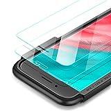 UGREEN Panzerglas Schutzfolie unterstützt für iPhone 8/7/6/6s 2 Stücke 2.5D Panzerglasfolie 9H Härte, Blasenfreiheit, Anti-Kratzer und Fingerabdruck, 3D-Touch, Installationsrahmen für einfache Montage