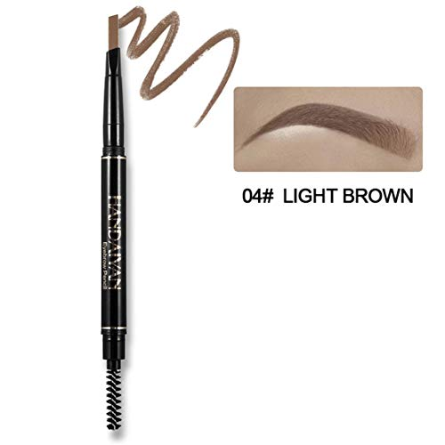 1 STÜCK Augenbrauenstift Wasserdichte Automatische Augenbrauenstift langlebige Make-Up Beauty Tools 5 Farbe Auge Braun Hohe Qualität