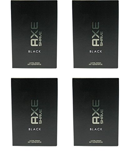 Axe Black After Shave, 4*100 ml