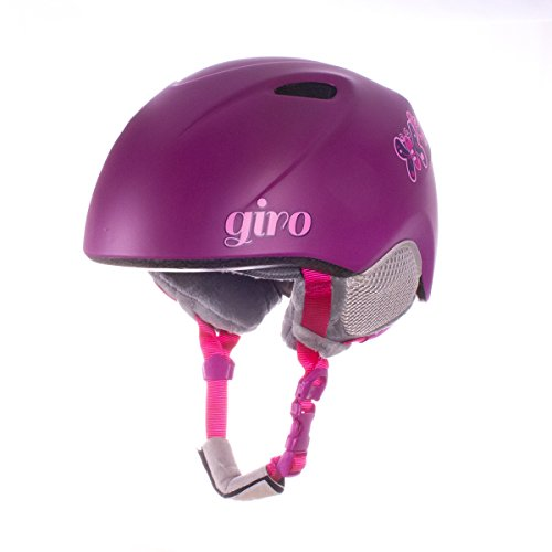 Giro Erwachsene Slingshot Ski und Snowboard Helme, Matte Berry Butterfly, M/L (Berry Butterfly)