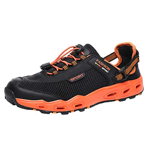 KERULA Sneakers, Men Shoes New Anti-Skid and Wear-Resistant Hiking for Outdoor Sports All Star Comfy Mesh-Comfortable Breathable Work Low Top Walking Sneakers Running füR Damen & Herren Slip-resistant Steel Toe Oxfords