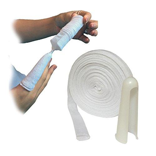 10-metres-of-sterogauze-tubular-finger-wound-dressing-bandage-applicator-small-adult-15cm