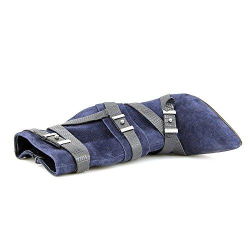Guess Parley Spitz Wildleder Mode-Stiefeletten Blue Multi
