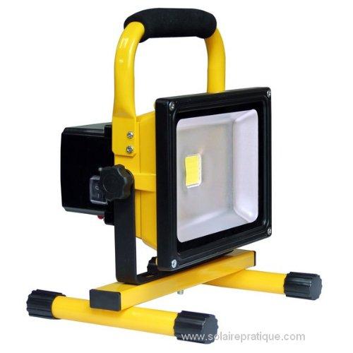 SOLAIRPRATIQUE - PROYECTOR CON LUZ LED (20 W  RECARGABLE)