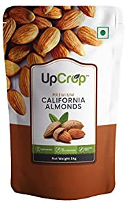 Upcrop Premium California Almonds 1kg