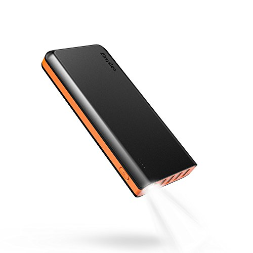 EasyAcc 26000mAh Portable Power Bank (Ingresso di 4A, Smart Output di...
