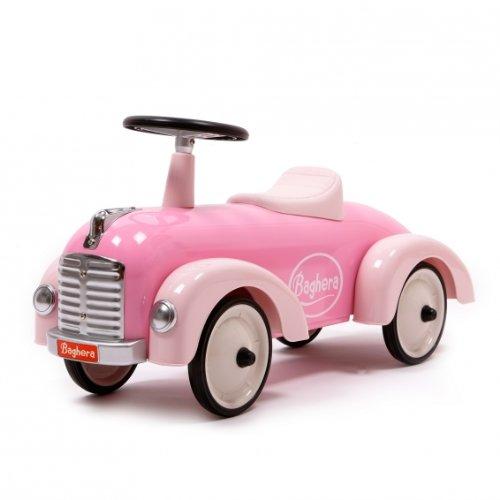 Baghera 882 - Rutscher aus Metall, Retrolook - Speedsters, rosa