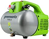 Greenworks Kompressor Druck Luft 6 l, 6,8 bar, stufenloser Druckregler