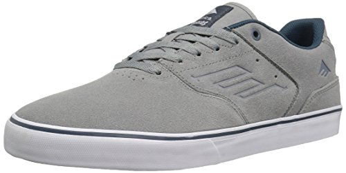 Emerica The Reynolds Low Vulc Herren Skateboardschuhe Grey/Blue