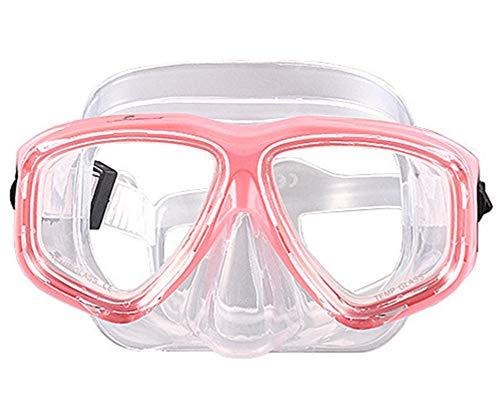 WOWDECOR Tauchmaske für Erwachsene und Kinder mit Kurzsichtigkeit Kurzsichtig, Schnorchelmaske...