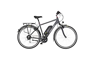 Fischer E-Bike TREKKING Herren ETH 1606, 28 Zoll, Heckmotor 504 Wh, Shimano 24-Gang-Schaltung
