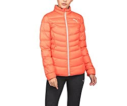 Puma Womens Cotton Jacket (85151326_Coral_XL)