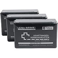Leina Werke Verbandkasten mit Inhalt DIN 13164 REF10002, 3er Set preisvergleich bei billige-tabletten.eu