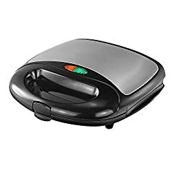 VARSHINE Premium Shine*Star Grill Sandwich Maker || 750Watt Heavy Duty || Both Griller and Toaster || Cool Touch Body || M-12