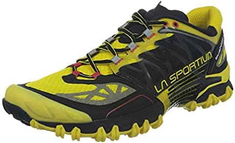 La Sportiva Men's Running Shoes Black, Men, Yellow/Black, 11