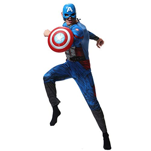 HYYSH Character Dress Up Kostüm Adult Avengers United States Captain Cos Kostüm (Avengers Dress Up)